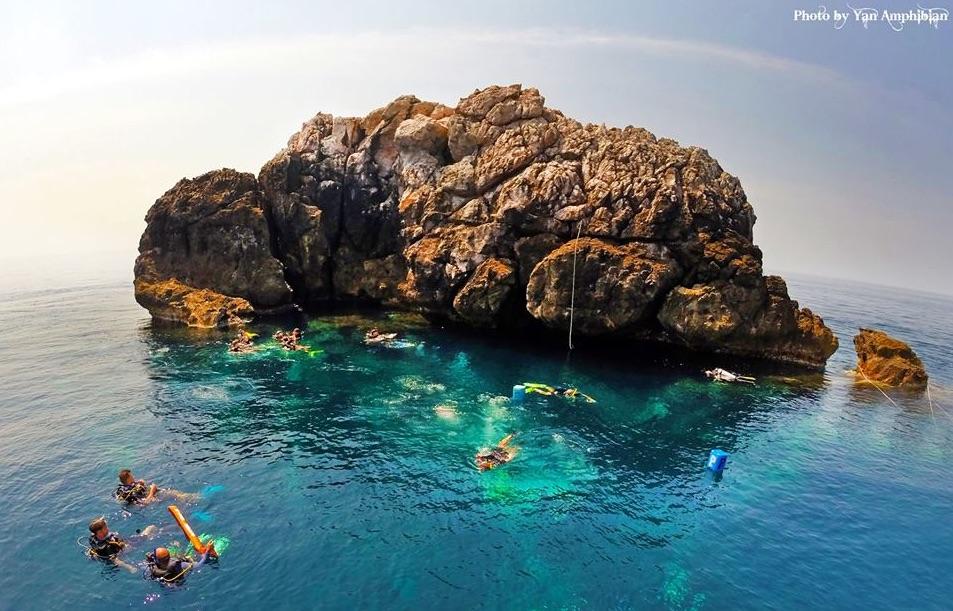 Sail Rock Drone